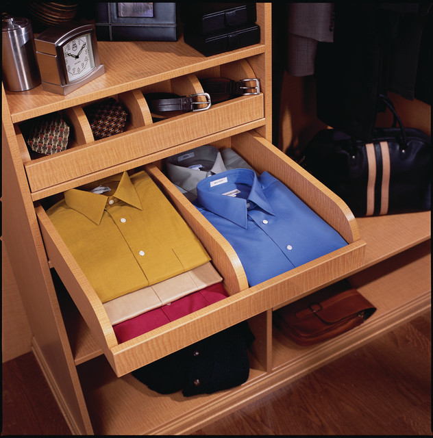 Pull-out Shirt Drawer - Contemporary - Closet Storage - other metro - by transFORM | The Art of ...