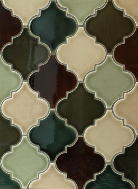 Arabesque Ceramic Tile