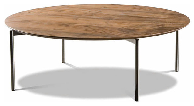Minotti Norman Round Coffee Table Contemporary Coffee Tables By Switch Modern