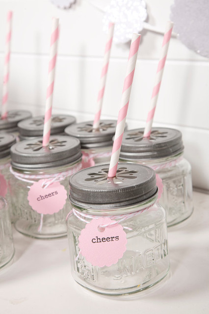 Light Pink Party Drink Kit by The Papered Nest farmhouse-everyday-glasses
