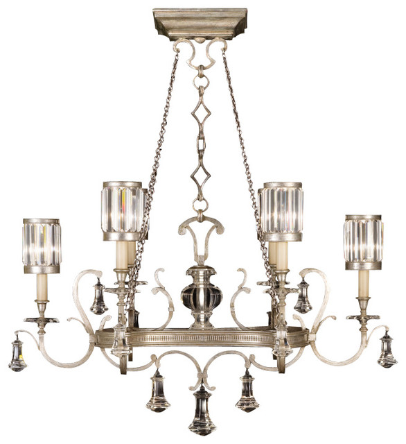 Eaton Place Silver Chandelier, 583840-2ST traditional-chandeliers