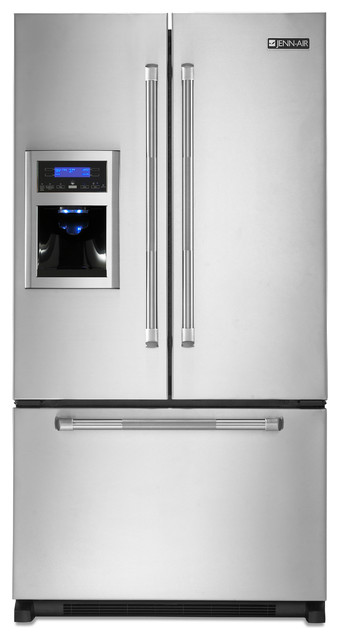 Jenn-Air French Door Refrigerator, Stainless Steel ...
