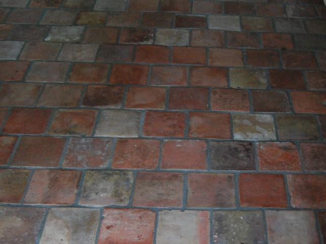 Reclaimed Terracotta Tiles mediterranean-floor-tiles