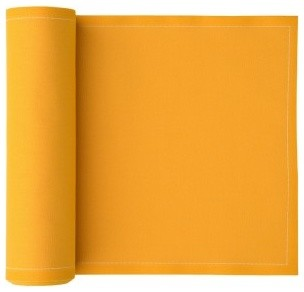 Cotton Placemat, Mustard Yellow - contemporary - table linens ...