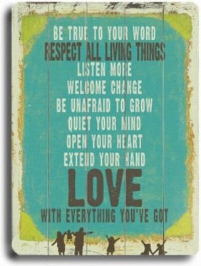 Love is Everything You've Got - 14W x 20H in. modern-artwork