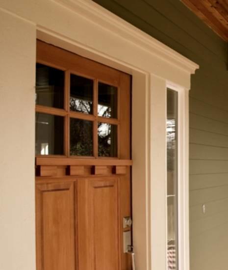 Craftsman Front Door with Windows 465 x 550