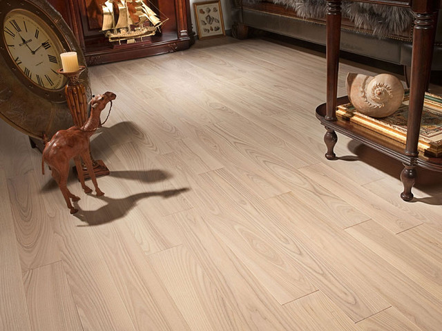 Ash Moonlight contemporary-hardwood-flooring