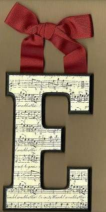 Musical Black And White Letters By Brooklyn Hilts contemporary nursery decor