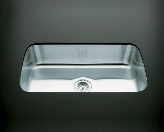 Large Kitchen Sinks Undermount : ... -Large Undermount Single-Bowl Kitchen Sink contemporary-kitchen-sinks
