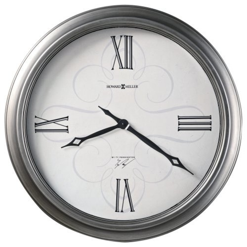 Ty Pennington Collection Elmont 24 Inch Wall Clock By