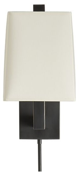 Duncan Antiqued Bronze Wall Sconce contemporary-wall-sconces