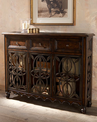 Ambella Valencia Console traditional buffets and sideboards