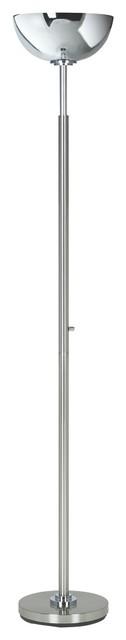 Possini Euro Design Light Blaster™ Torchiere Floor Lamp contemporary-floor-lamps