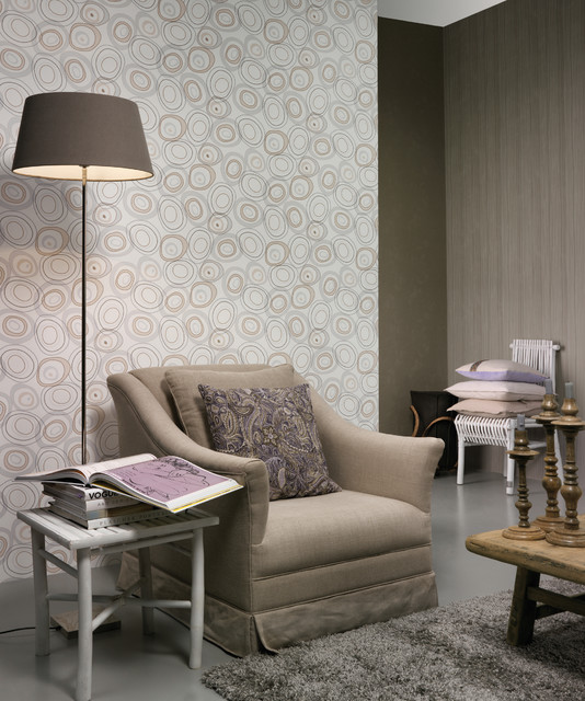 Authentique Wallpaper Room Shot (Residential) contemporary