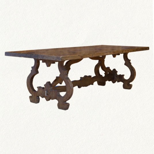 Terrain Baroque Table traditional dining tables