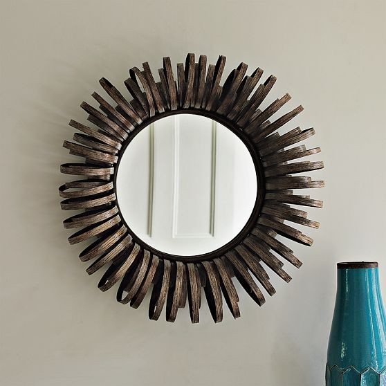 Ribbon Mirror eclectic-mirrors