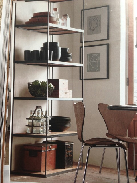 dining room shelves black dining ware