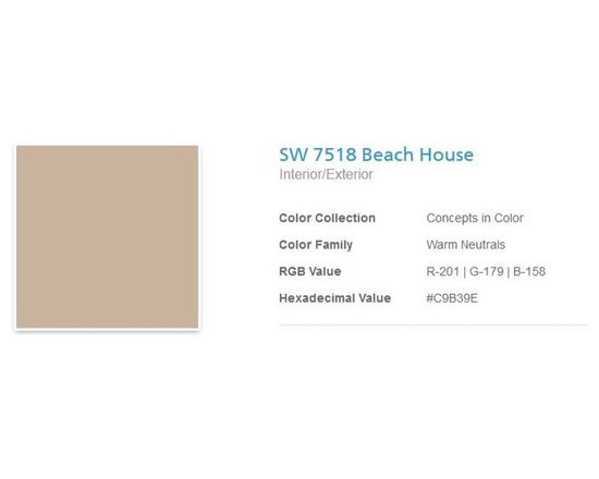 "Jerilyn's Successful Paint Colors - A nice, soft beige used anywhere. It's more on the ""cheery"" side than the ""muted"" side. By Sherwin Williams."