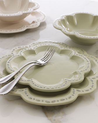 Quatrefoil 12-Piece Dinnerware Service traditional-dinnerware