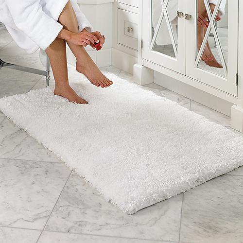 Belize Memory Foam Bath Rug - Traditional - Bathroom Sinks - by FRONTGATE