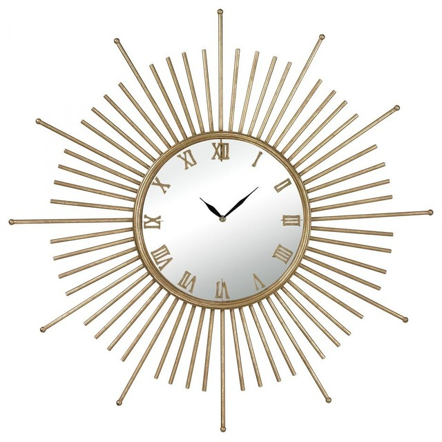 mid century style wall clock contemporary clocks