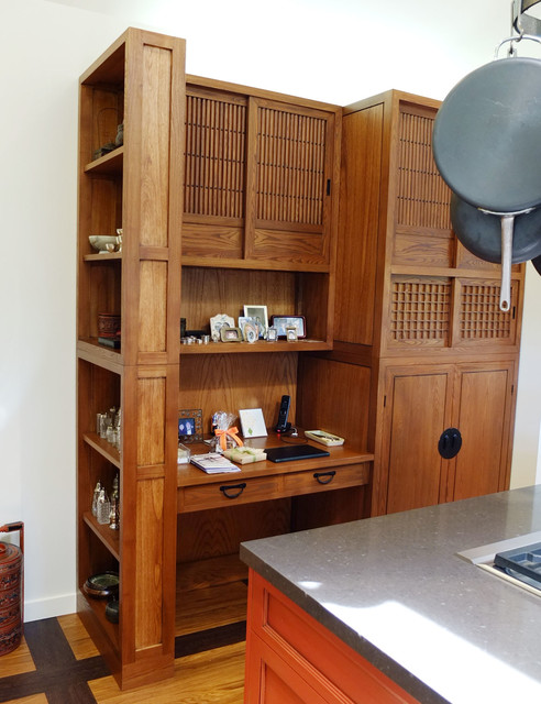 Kitchen Pantry Workstation Asian San Francisco By Eastern Classics Llc