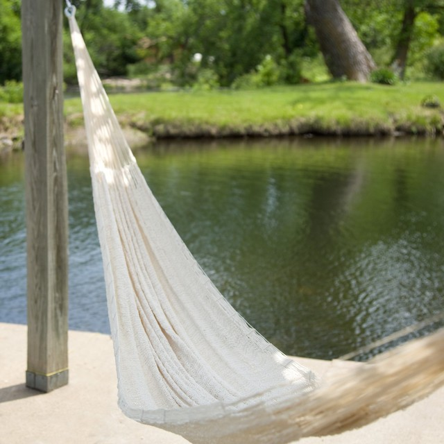 Large Hand Woven Mayan Hammock contemporary hammocks