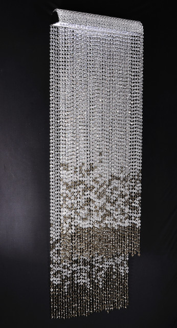 Chandelier And Wall Sconces : Waterfall Chandelier - Contemporary - Wall Sconces - other metro - by Designer Chandeliers