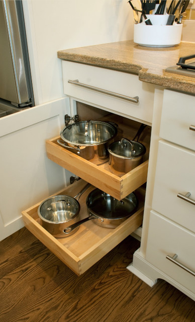 Contemporary Cabinet And Drawer Organizers by CliqStudios Cabinets