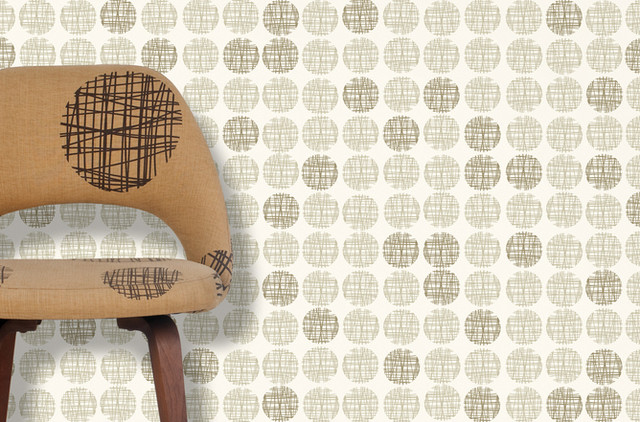 Contemporary Wallpaper by Twenty2