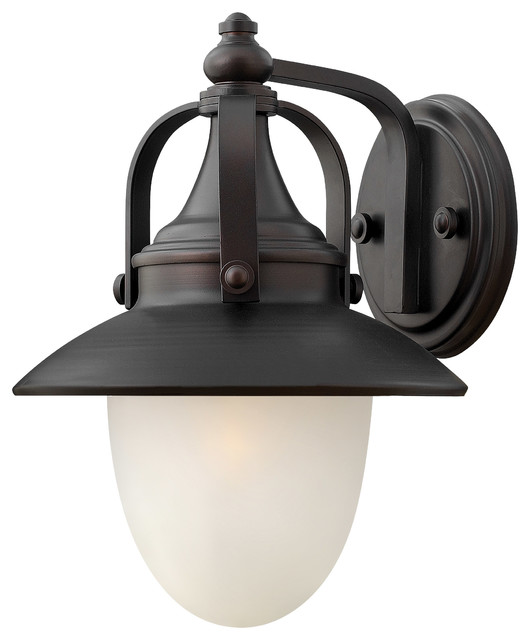 Hinkley Lighting 2080SB Pembrook Spanish Bronze Outdoor Wall Sconce Transit