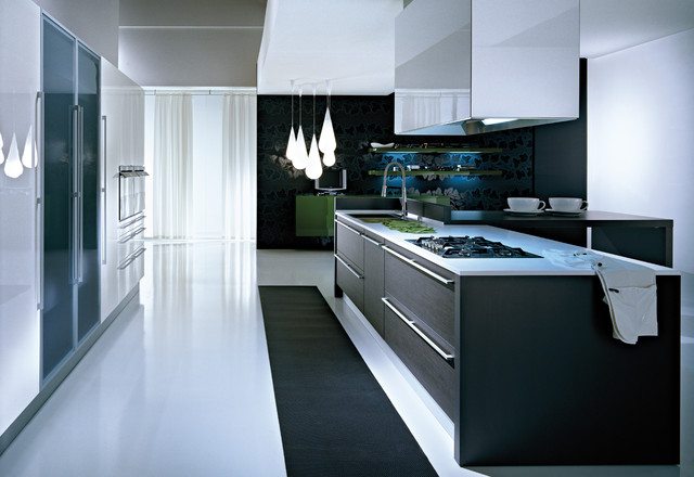 Pedini Q2 Modern Kitchen Cabinetry Other Metro By