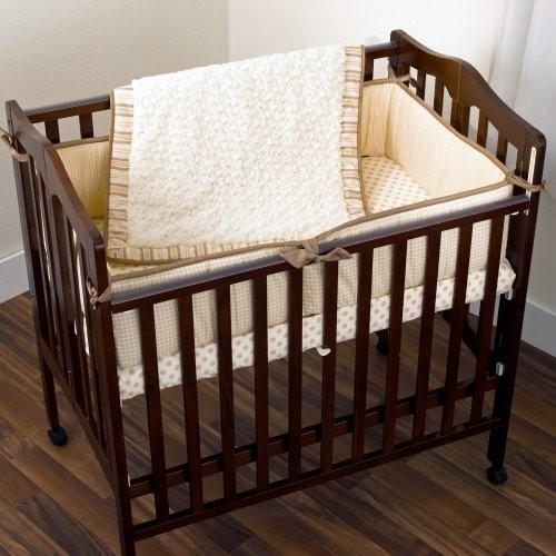 Cocalo Snickerdoodle Porta Mini Crib Set Contemporary