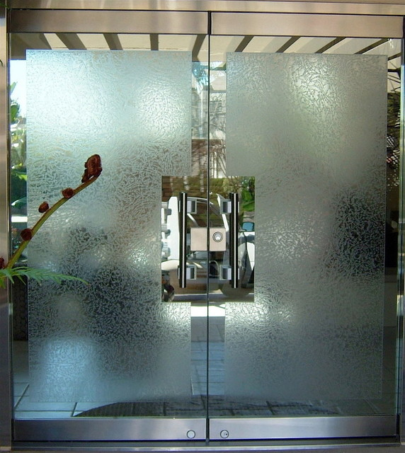 gluechipped all glass doors eclectic front doors other metro by sans soucie glass