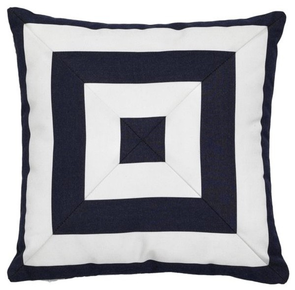 Yachting Mitered Outdoor Pillow outdoor-pillows