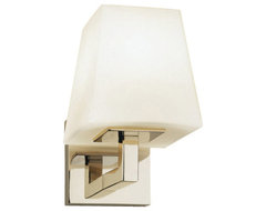 Doughnut Wall Sconce, Polished Nickel contemporary-wall-sconces
