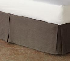 Flanders Tailored Dust Skirt Panel bedskirts