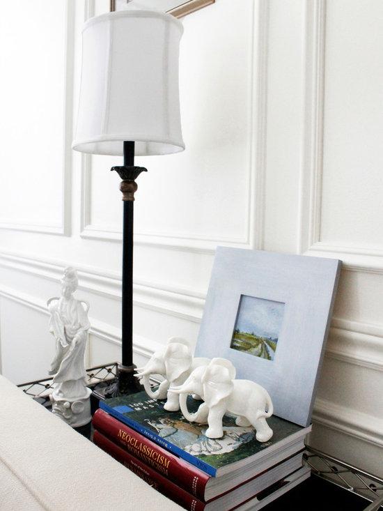 Vintage Decor Accessories - AM Dolce Vita, Blanc de Chine Porcelain Elephants, Blanc de Chine Kwan Yin, Blanc de Chine Porcelain Figurines, Chinoiserie Decor