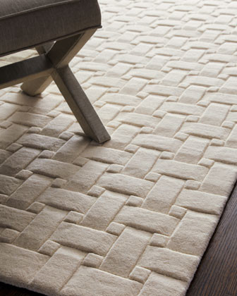 """""""Woven Textures"""" Rug traditional-rugs"""