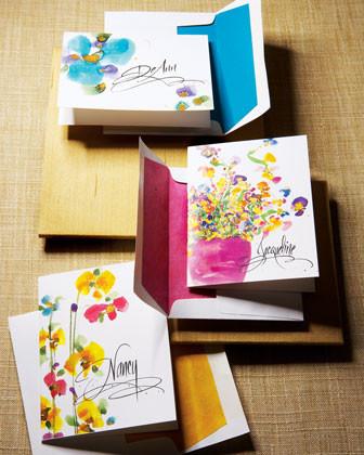 Garden Cards/Envelopes traditional-desk-accessories