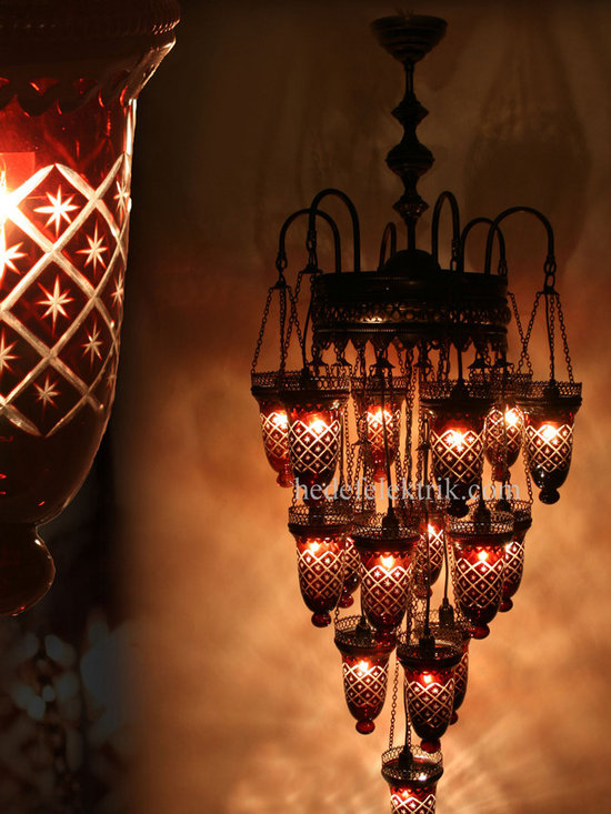 Turkish Style - Mosaic Lighting - Code:  HD-04161_79