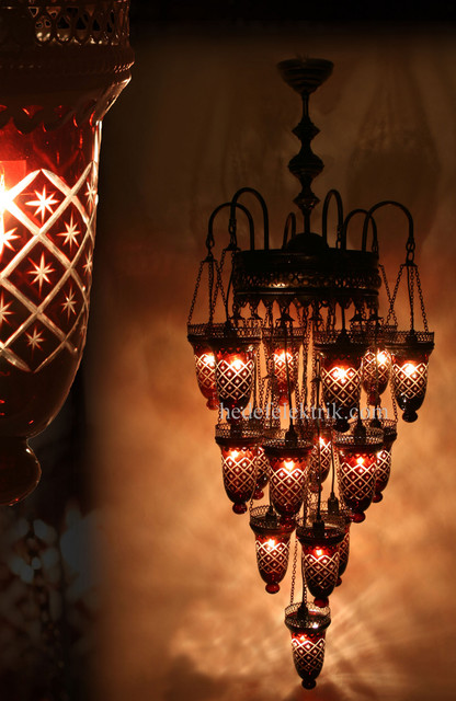 Turkish Style Mosaic Lighting Eclectic Chandeliers