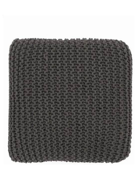 Ferm Living Knitted Floor Cushion - Ferm Living Knitted Floor Cushion