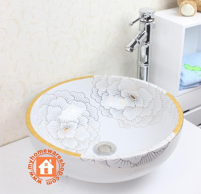 Sink asian-bathroom-sinks