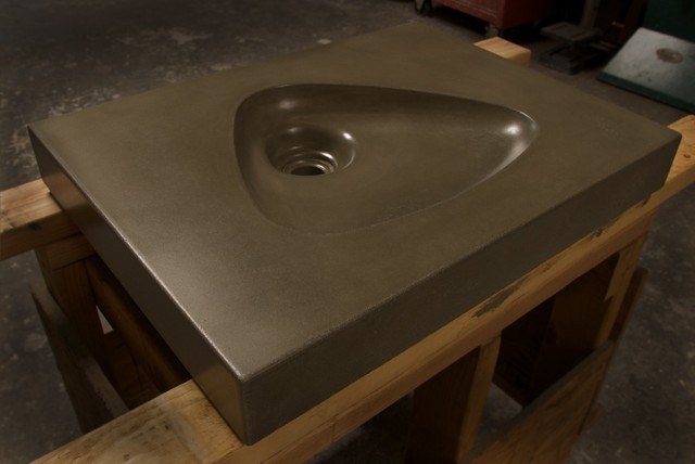 Mid Century Modern Atomic Clarendon Concrete Sink By Gore