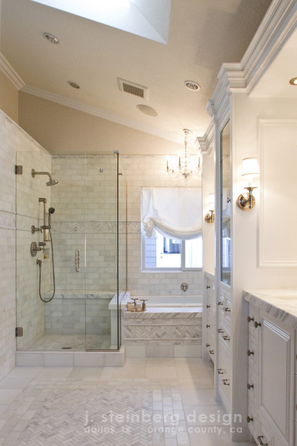 Beacon Hill Master Bathroom traditional 