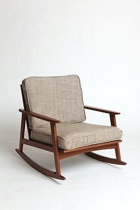 Mid-Century Rocker Chair modern rocking chairs