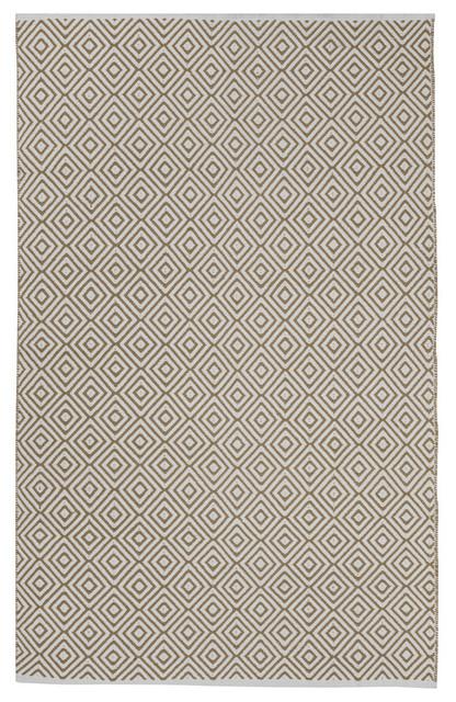 Veria Rug - Green (2' x 3'), Khaiki, 6' X 9' contemporary-rugs