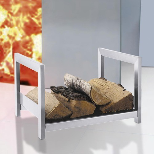 Calore Firewood Storage Rack Modern Fireplace Accessories By Allmodern