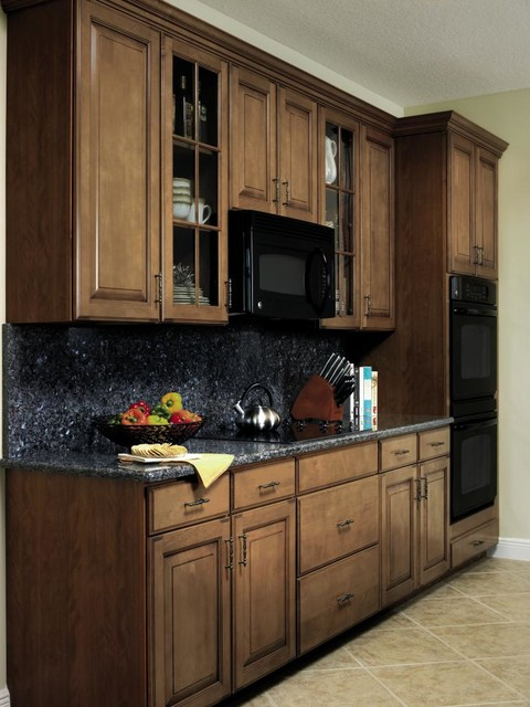 Aristokraft eclectic-kitchen-cabinets